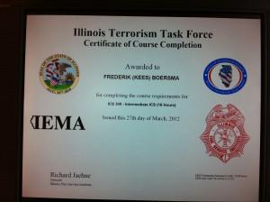 IFSI Certificates